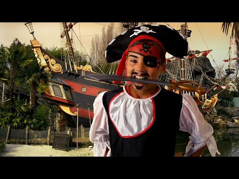 Snygg och kreativ piratsminkning till kalaset