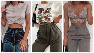 OUTFITS CON PANTS MODERNOS | OUTFITS JOGGERS 2020