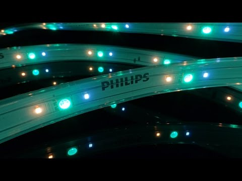 Unboxing and Testing the Philips Hue Lightstrip Plus