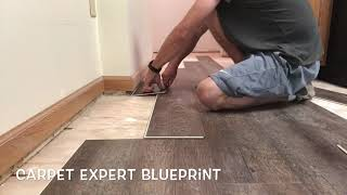 🔪 How To Cut Vinyl Plank Flooring 🔪 Without Skills Or Special Tools!