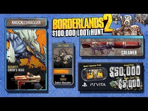 Borderlands 2 - Week 3 - Day 4 Loot Hunt - Shift Codes