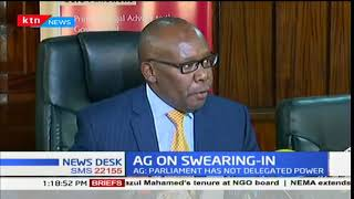 AG Githu Muigai weighs in on NASA's planned swearing in of Raila Odinga as People's President