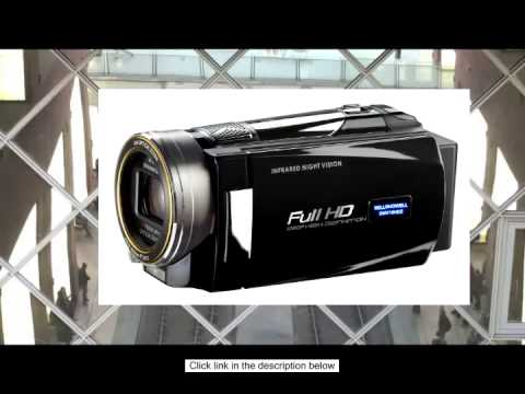 Bell and Howell DNV16HDZ-BKFull 1080p HD 16MP Infrared Night Vision Camcorder 10x Optical Zoom and 3