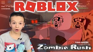 ROBLOX Зомби захватили все побег от зомби приключение квадратного героя РОБЛОКС