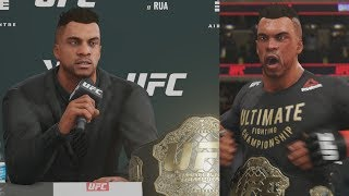 UFC 3 GOAT Career Mode - 1st Title Defense 33 Secs! EA Sports UFC 3 Gameplay PS4
