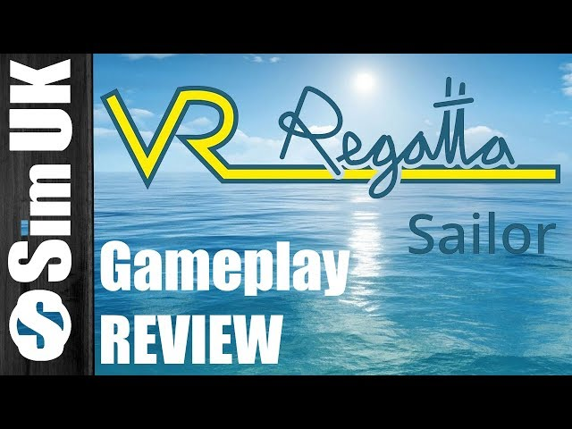 Most Realistic Sailing Sim? VR Regatta Gameplay Review (Oculus Rift)