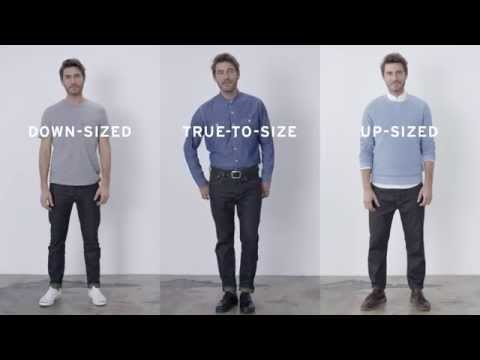 Men's Levi's 501 CT Customized & Tapered - How to wear it