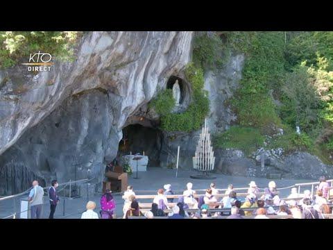 Messe du 18 juillet à Lourdes