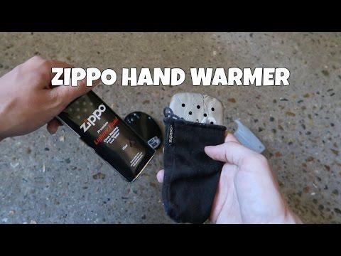 Zippo Hand Warmer Review and Temperature checks