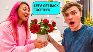 I ASKED CARTER TO GET BACK TOGETHER WITH ME!! **gone wrong**