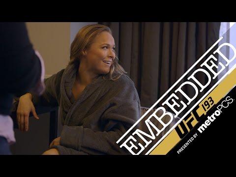 UFC 193 Embedded: Vlog Series - Episode 1