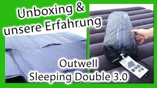 Unboxing | Iso-Matte Outwell Sleeping Double 3.0 Isomatte | Einsatzmöglichkeiten | Luftbett