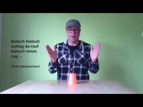 Anleitung Einfach!  - Becher Rhythmus, Becher Rap, Cup Song, Cup Rhythm, Becher Beat