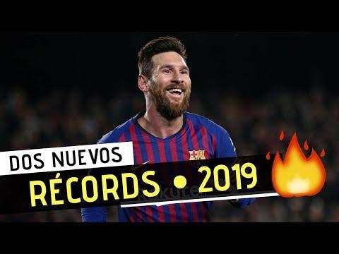 Los 2 Nuevos RÉCORDS de LIONEL MESSI con el BARCELONA • 2019