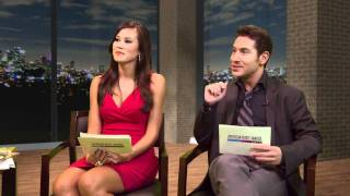 Виктория Джастис, Nickelodeon Star Victoria Justice Answers Fan Questions - AMAs 2010