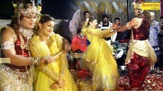 Teri Meri Katti Hai Jayegi सपना चौधरी ने राधा बनकर कृष्ण जी के साथ जमकर लगाए ठुमके Sai Sandhya