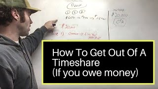 HOW TO GET OUT OF A TIMESHARE CONTRACT (IF YOU OWE MONEY)