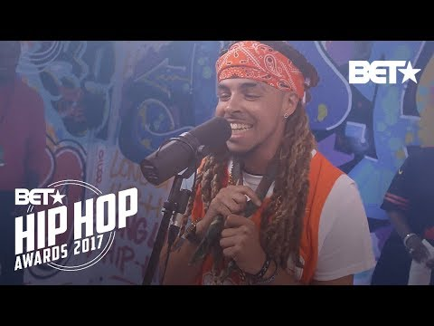 Dee-1 BET Hip Hop Awards 2017 Instabooth Freestyle