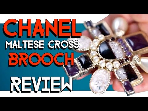 CHANEL maltese cross BROOCH REVIEW