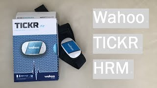 Wahoo TICKR Heart Rate Monitor Review (BRILLIANT)