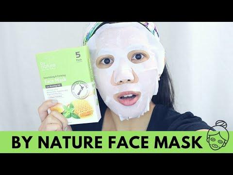 Mukha mask na may konyak