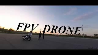 FPV Drone Freestyle Полетушки на парковке.