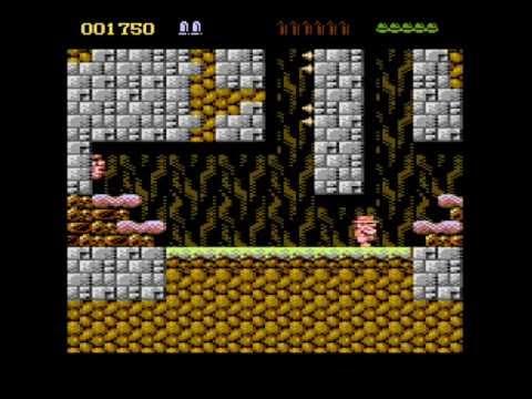 Atari 8-bit Rick Dangerous Teaser Trailer #3