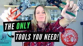 Cutting Glass Mosaic Tile WITH NIPPERS (So Easy!)
