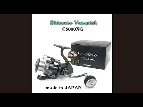 Máy câu Shimano Vanquish C5000XG - Đẳng Cấp Made in Japan