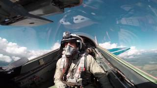 Lebanese tourist has Aerobatics Experience in MiG-29! Fighter Jet Rides! August 2015!!