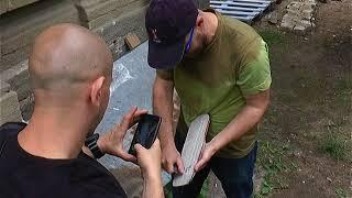 В центре Харькова появился гуманоид