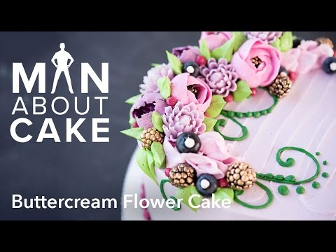 Video (man about) Buttercream Flowers | Man About Cake with Joshua John Russell