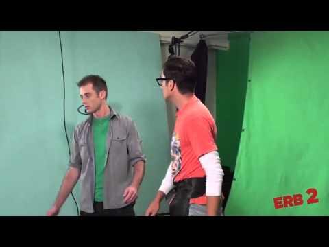 Epic Rap Battles Of History   Behind The Scenes   Nice Peter vs EpicLLOYD