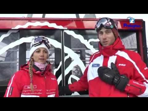 Le domaine skiable de Pralognan