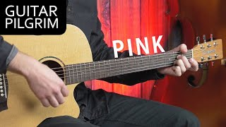 How To Play 'Pink'' by Aerosmith on Acoustic Guitar
