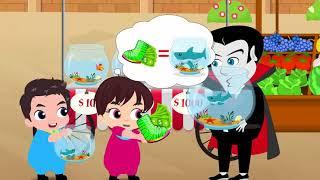 Johny Johny  Baby Driving и Parents Car to Grocery Store - Образовательное видео для детей