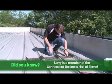 In this On the Job video, Larry Janesky and his team at Dr. Energy Saver, insulate the existing metal roof of a commercial building using spray foam roofing technology. According to Larry, spray foam roofing is one of the greatest developments in the insulation and roofing industry.