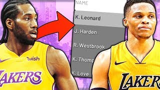 WHAT IF EVERY NBA PLAYER PLAYED FOR THEIR HOMETOWN TEAM?