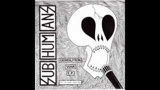 Subhumans - Demolition War E.P.