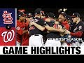 Nationals clinch first World Series trip Nationals Cardinals MLB Highlights