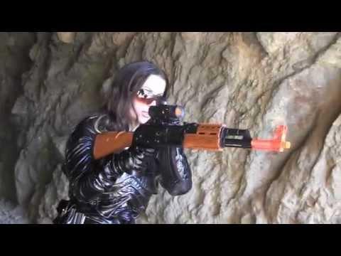 GI Joe Baroness Costume Video