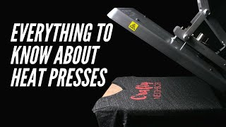 Heat Press Guide: Everything You Need to Know to Press HTV