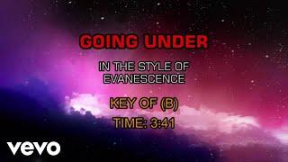 Evanescence - Going Under (Karaoke)