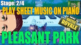 Where to Play the Sheet Music At a Piano Near Pleasant Park - Fortnite