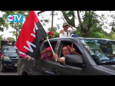 Masayas recorren las calles por la Paz, Dialogo y Unidad
