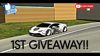 1ST GIVEAWAY OF THIS CHANNEL | Car Parking Multiplayer | Widebody kit Lamborghini Huracan