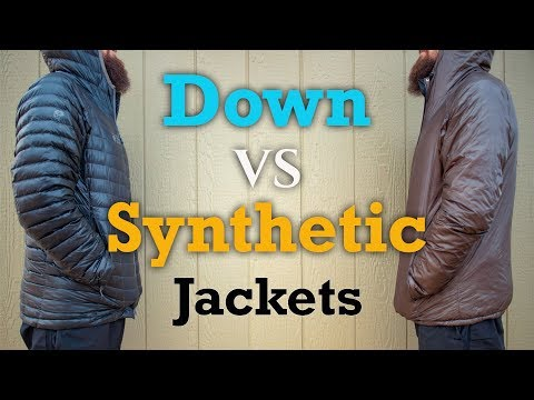 Down Vs Synthetic Jackets - What's the Best for you?