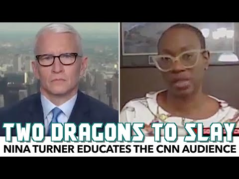 Nina Turner Educates CNN On The Dragons That Need Slaying