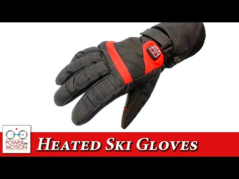 MotionHeat Heated Ski Gloves Preview – Calgary | Edmonton | Vancouver | Winnipeg | Canada
