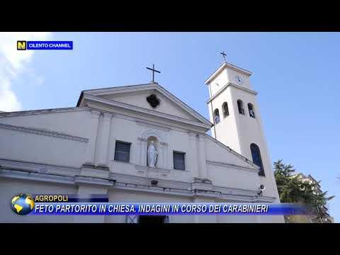 Feto partorito in chiesa. Indagini in corso dei carabinieri.
